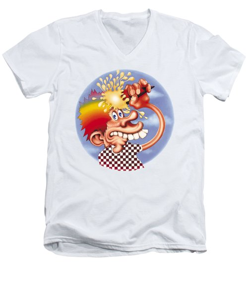 Grateful Dead Europe 72' Men's V-Neck T-Shirt