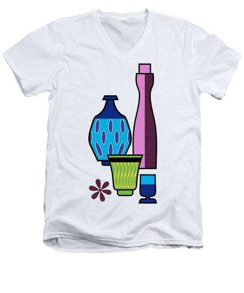 Gravel Art  Men's V-Neck T-Shirt