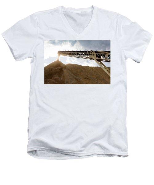 Gravel Mountain 2 Men's V-Neck T-Shirt