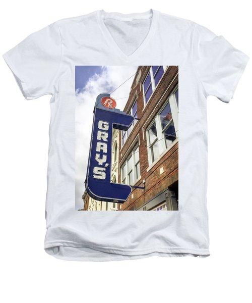 Gray's Rx In Franklin Tn Men's V-Neck T-Shirt
