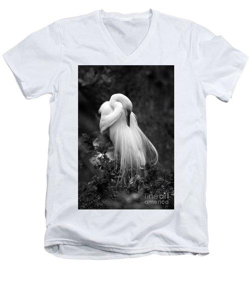 Zen Tree  Men's V-Neck T-Shirt