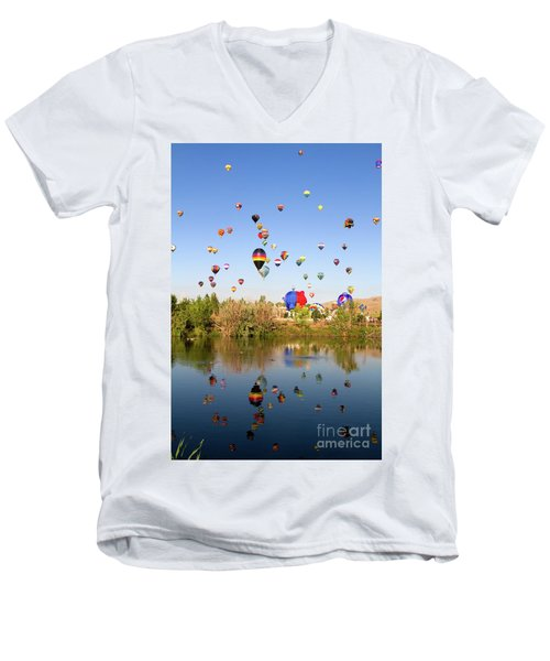 Great Reno Balloon Races Men's V-Neck T-Shirt
