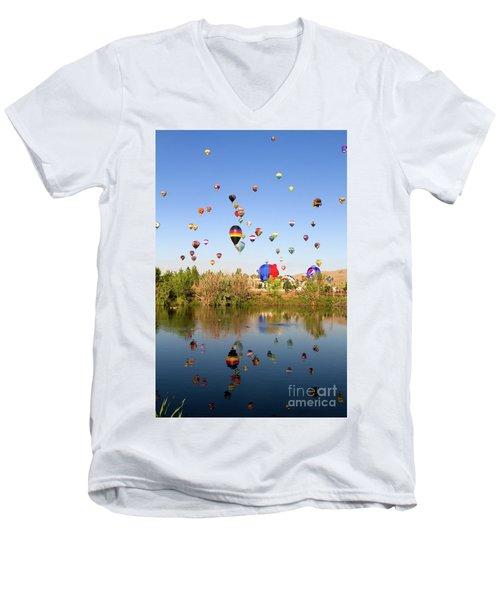 Great Reno Balloon Races Men's V-Neck T-Shirt