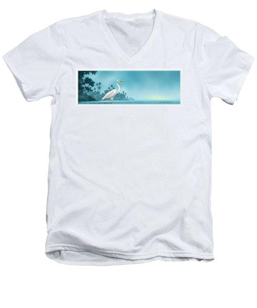Great White Men's V-Neck T-Shirt