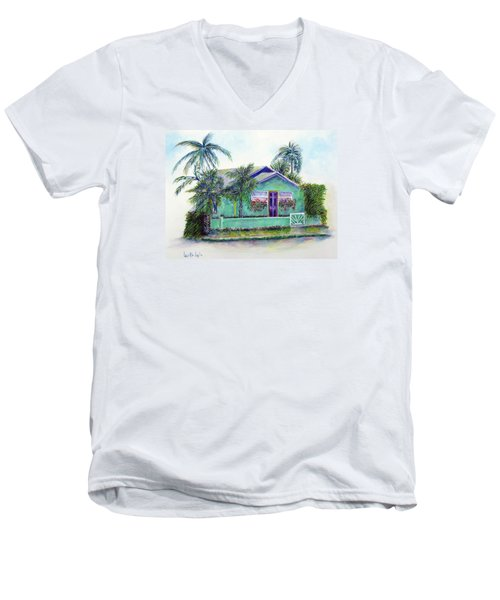 Green Cottage Men's V-Neck T-Shirt