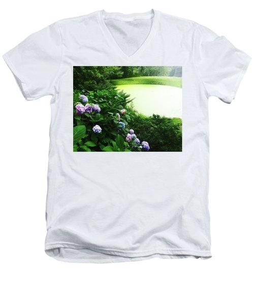Green Pond Men's V-Neck T-Shirt