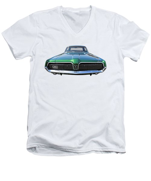 Green With Envy - 68 Mercury Men's V-Neck T-Shirt