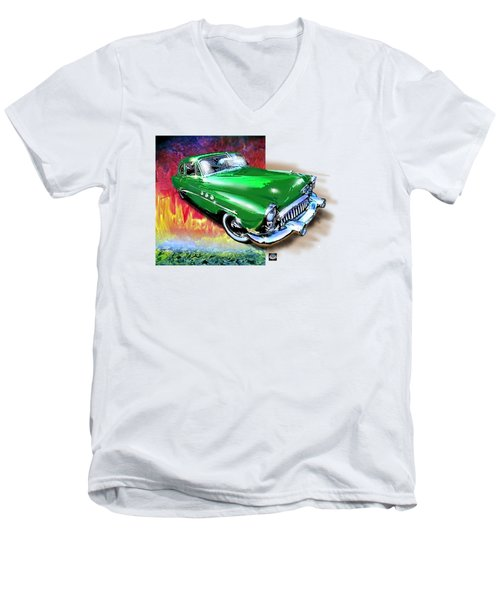 Green With Envy Men's V-Neck T-Shirt