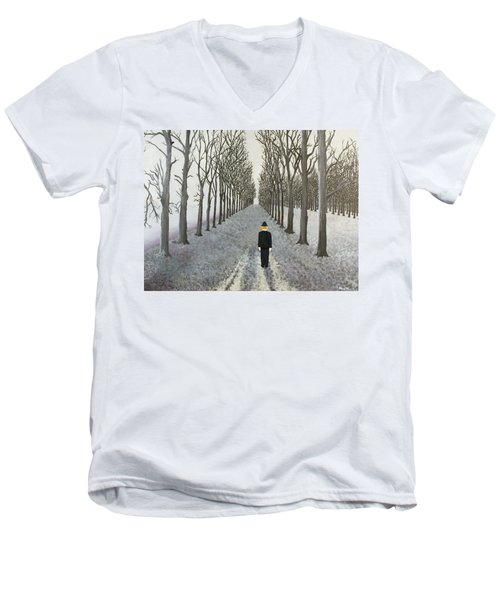 Grey Day Men's V-Neck T-Shirt