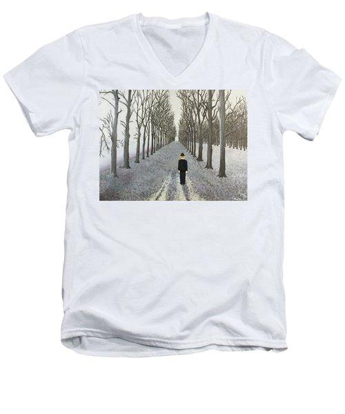 Grey Day Men's V-Neck T-Shirt