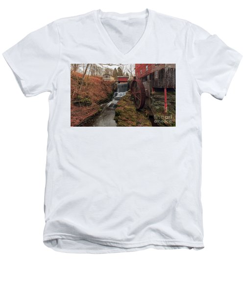 Grist Mill II Men's V-Neck T-Shirt
