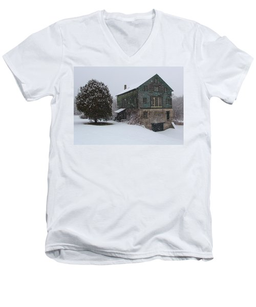 Grist Mill Of Port Hope Men's V-Neck T-Shirt