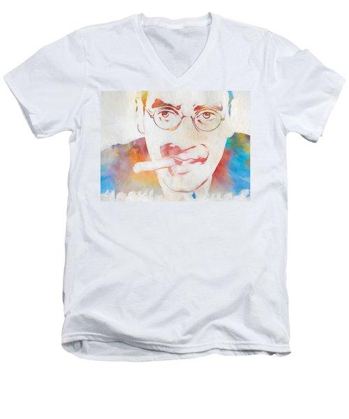 Groucho Marx Men's V-Neck T-Shirt