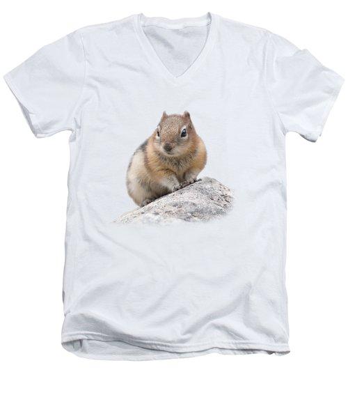 Ground Squirrel T-shirt Men's V-Neck T-Shirt