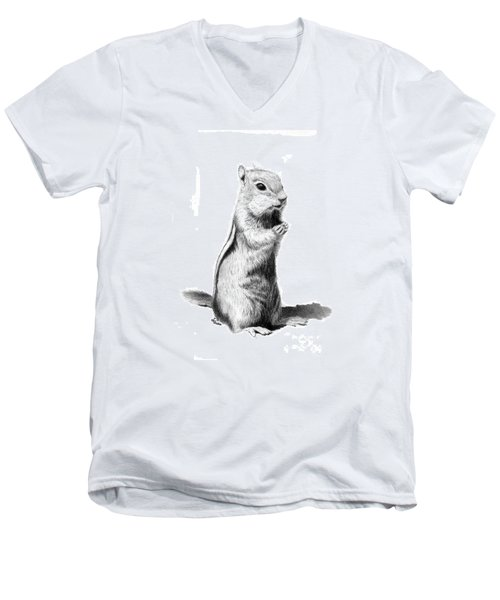 Ground Squirrel Men's V-Neck T-Shirt