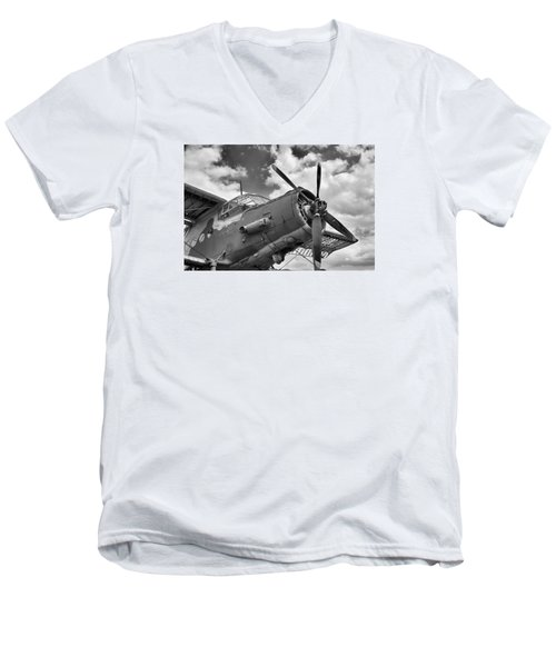 Grounded Men's V-Neck T-Shirt