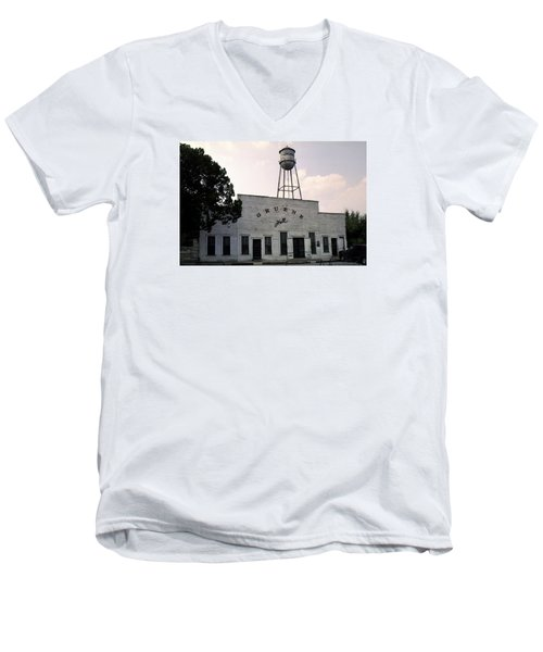 Gruene Hall Men's V-Neck T-Shirt