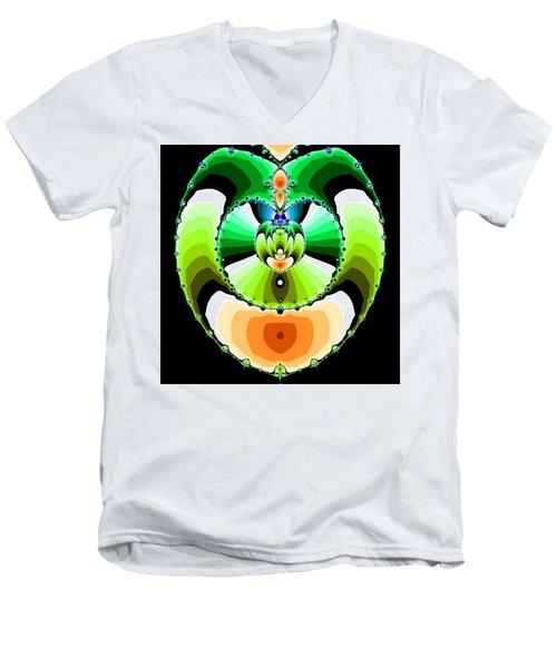 Grufflixie Men's V-Neck T-Shirt