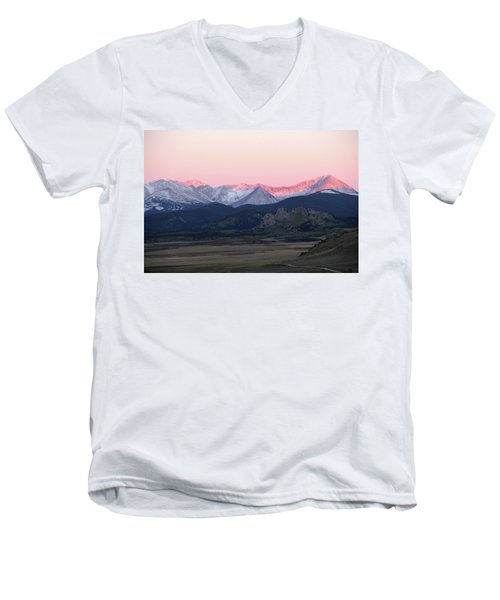Guanella Sunrise Men's V-Neck T-Shirt