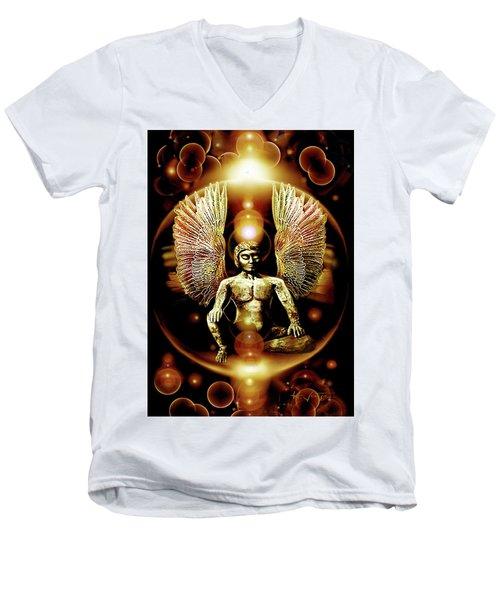 Guardian  Archangel Men's V-Neck T-Shirt