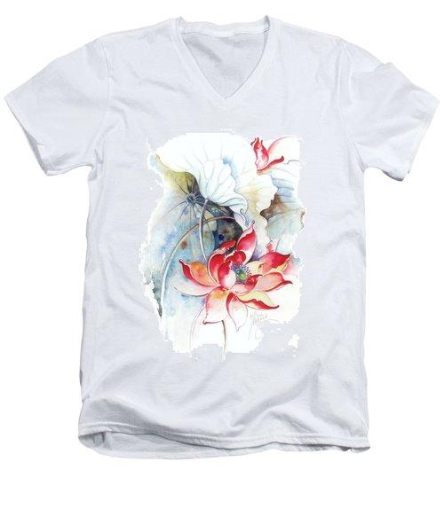Guarding The Secret Passage Men's V-Neck T-Shirt by Anna Ewa Miarczynska