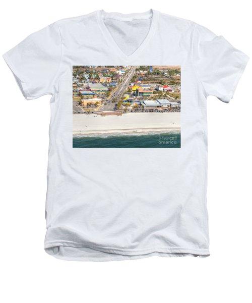 Gulf Shores - Hwy 59 Men's V-Neck T-Shirt