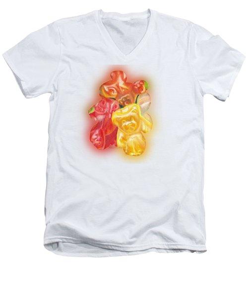 Gummy Bear Men's V-Neck T-Shirt