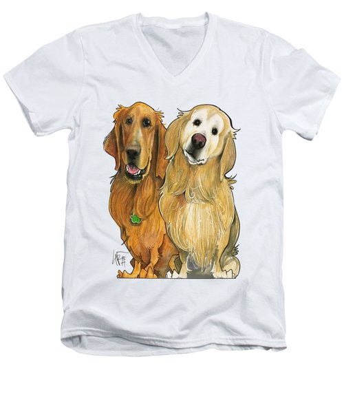 Haberland 7-1317 Men's V-Neck T-Shirt