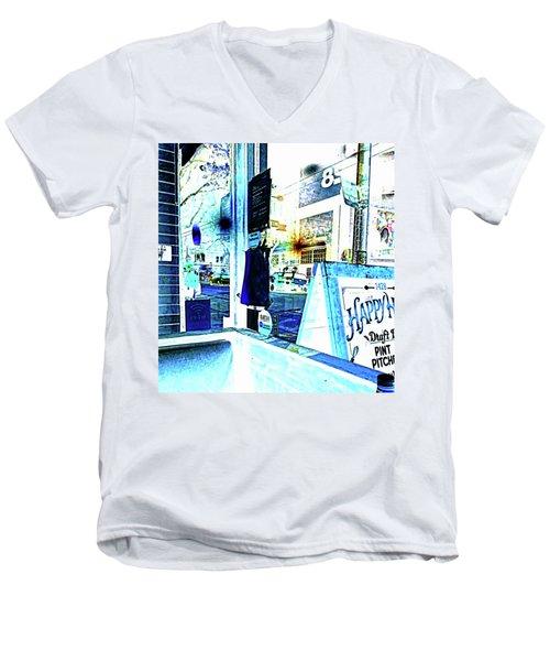 Haight Street San Francisco From 1428 Men's V-Neck T-Shirt
