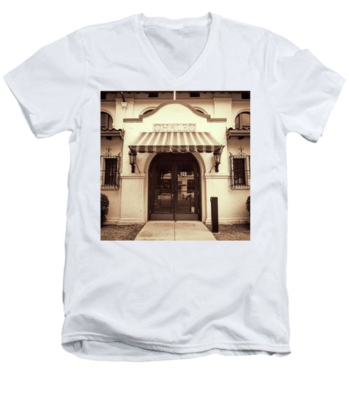 Men's V-Neck T-Shirt featuring the photograph Hale by Stephen Stookey