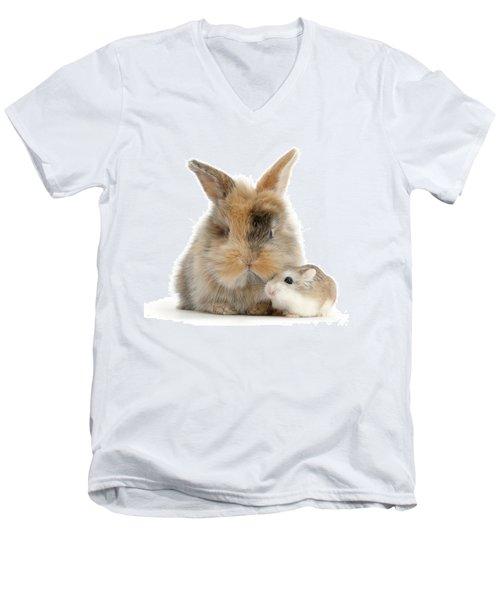 Ham And Bun Men's V-Neck T-Shirt