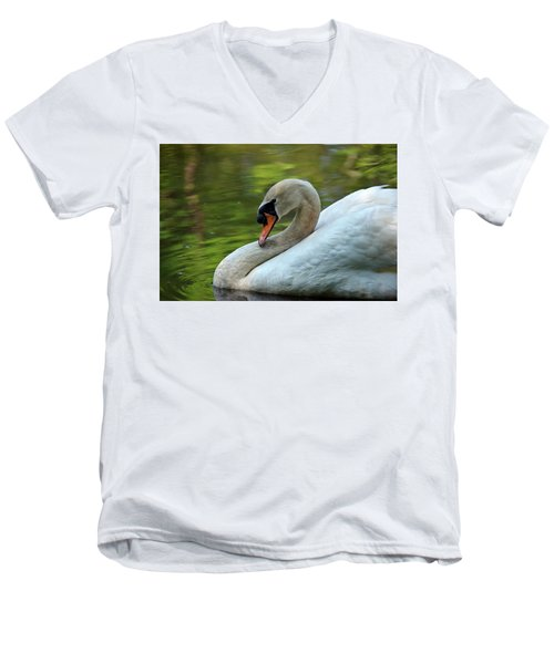 Hammy Swan Men's V-Neck T-Shirt