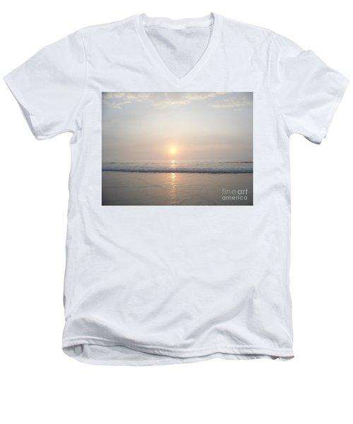Hampton Beach Sunrise Men's V-Neck T-Shirt