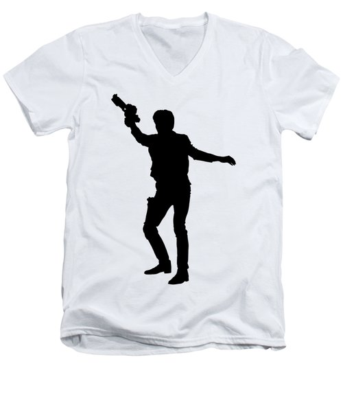 Han Solo Star Wars Tee Men's V-Neck T-Shirt