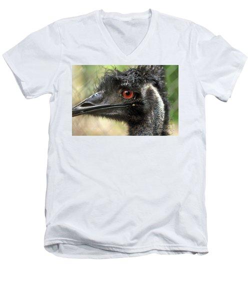 Handsome Men's V-Neck T-Shirt