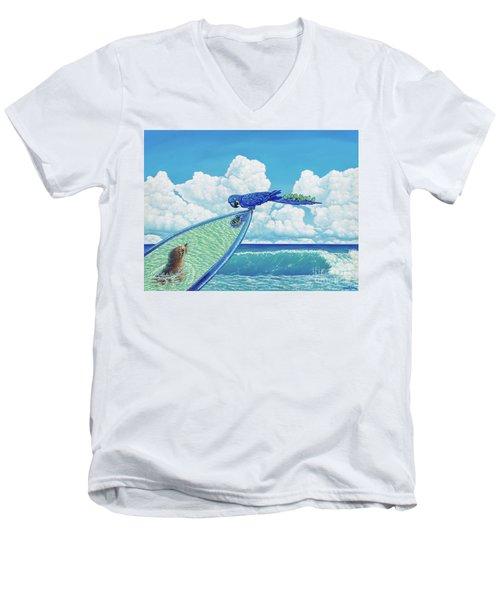 Hang Ten Men's V-Neck T-Shirt