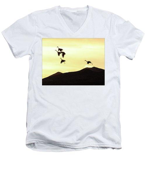 Hang Time Men's V-Neck T-Shirt