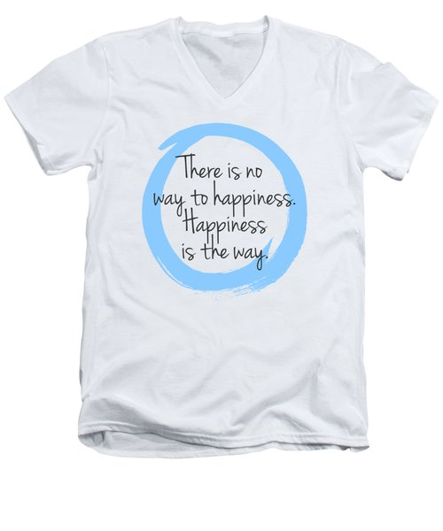 Happiness Men's V-Neck T-Shirt