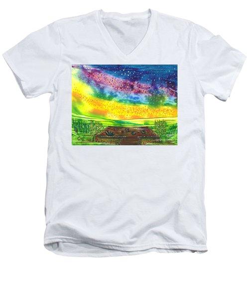 Happy Hour Men's V-Neck T-Shirt