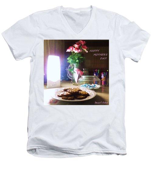 Happy Mothers Day Men's V-Neck T-Shirt