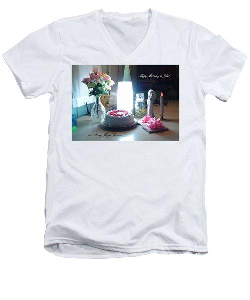 Happy Returns Men's V-Neck T-Shirt