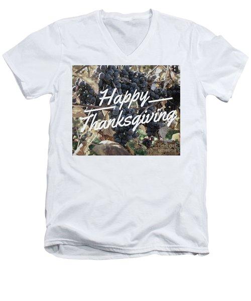 Happy Thanksgiving Men's V-Neck T-Shirt