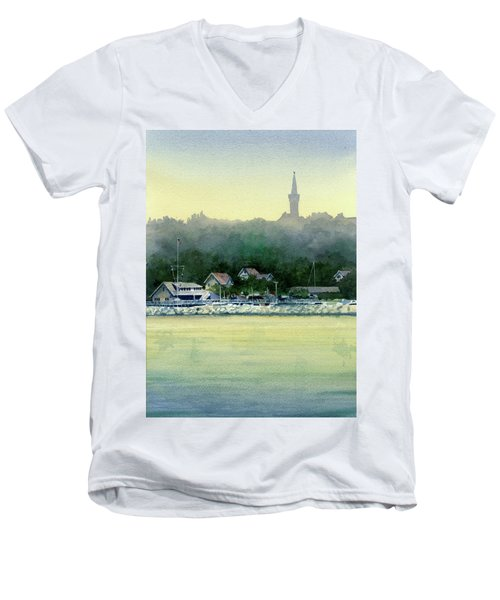 Harbor Master, Port Washington Men's V-Neck T-Shirt