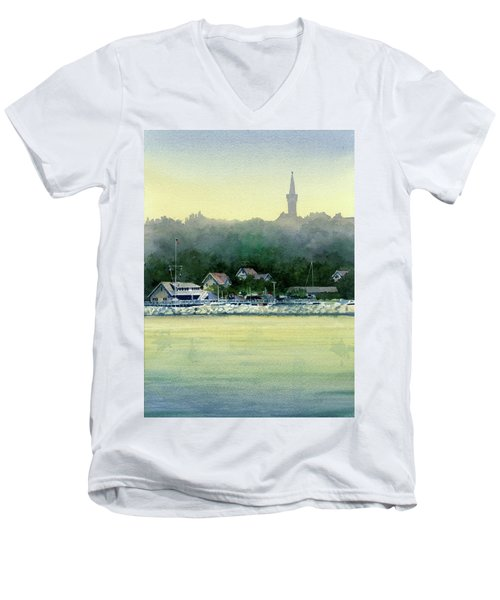 Harbor Master, Port Washington Men's V-Neck T-Shirt