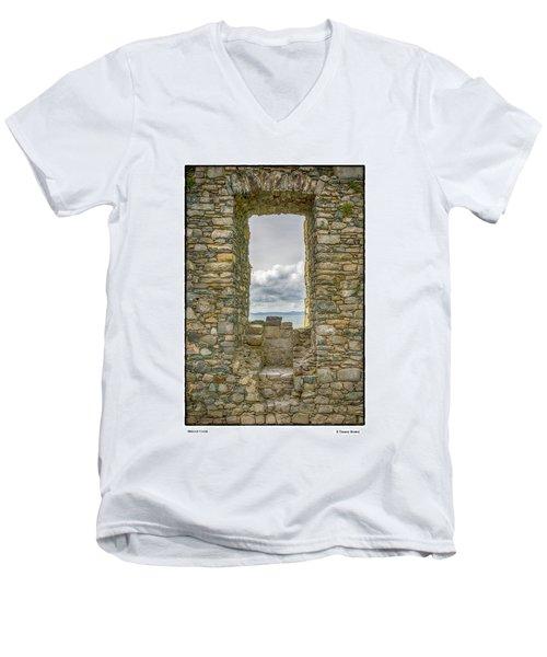 Harlech Cloud Men's V-Neck T-Shirt