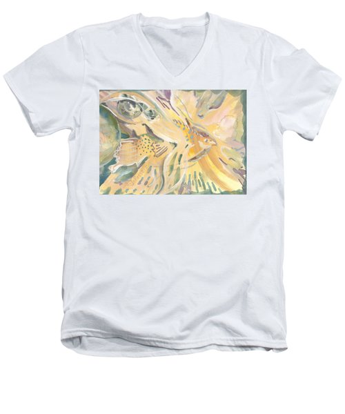 Harmony On Earth Men's V-Neck T-Shirt