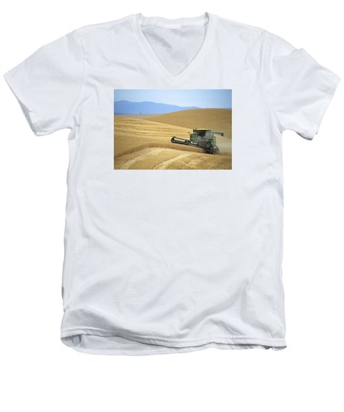 Harvest And Moscow Mountain Men's V-Neck T-Shirt