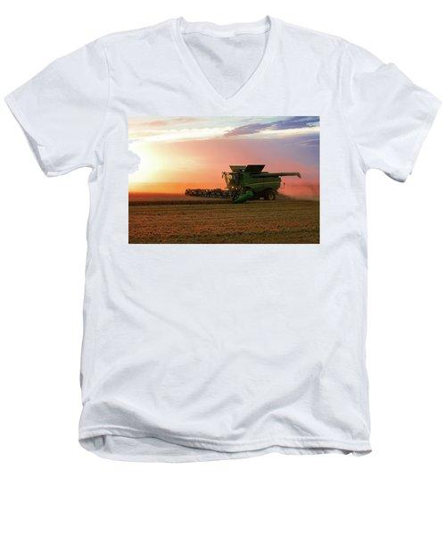 Harvest Colors Men's V-Neck T-Shirt