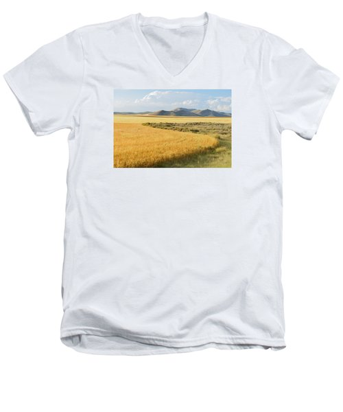 Harvest Men's V-Neck T-Shirt