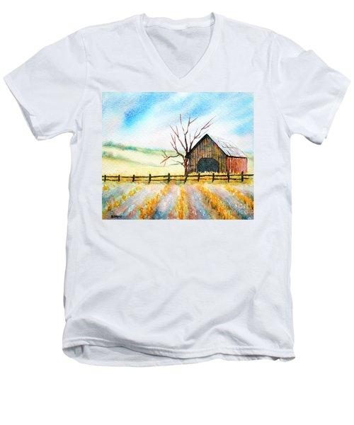 Harvest Season Men's V-Neck T-Shirt